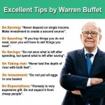 Personal finance tips from Warren Buffett